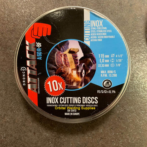6900987123 Dronco Attaack Inox Cutting Disk