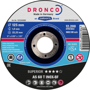 Dronco AS 60 T INOX 1 MM