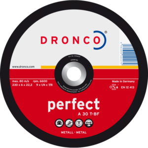 Dronco A 30 T - BF Perfect grinding disc for metal 115mm x 6mm