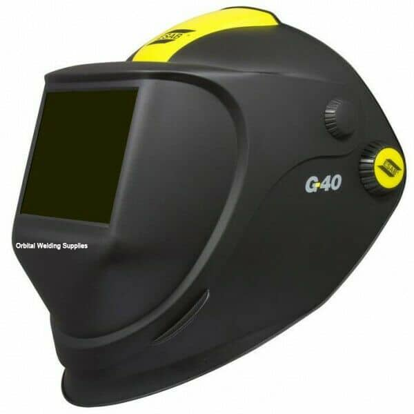 Esab G40 Prepared for Air Welding & Grinding Helmet